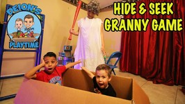 HIDE and SEEK GRANNY GAME in REAL LIFE - DEION'S PLAYTIME
