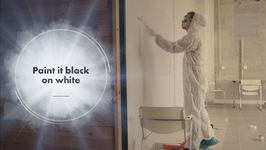 This Paint Lets You Draw On Walls... And Wipe It Off!