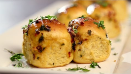 Tadka Pav - Easy And Simple Tea Time Snack - Beat Batter Bake With Upasana