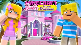 BARBIE LIFE in the DREAM HOUSE - FULL TOUR OF THE NEW DREAMHOUSE!! Minecraft Roleplay
