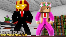 Minecraft - Little Kelly Adventures : IRON MAN GETS A NEW SUIT!