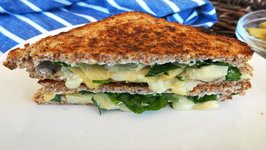Sandwich - Spinach And Artichoke Grilled Cheese