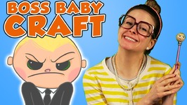 Boss Baby DIY Pencil Topper - Arts and Crafts with Crafty Carol