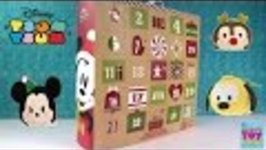 Disney Tsum Tsum Exclusive Plush Advent Calendar Unboxing Opening Toy Review