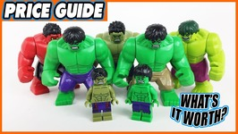 What is the Most EXPENSIVE LEGO Hulk Figure? Top 8 Countdown