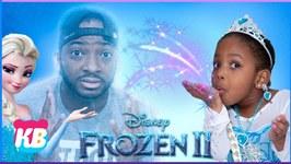 Kyraboo Turns into Elsa Pretend Play Princess Elsa Frozen