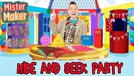 Mister Maker Hide And Seek Arty Party - Animated Story For Children - Mister Maker