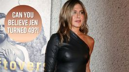 Jennifer Aniston rings in 49th birthday looking badass