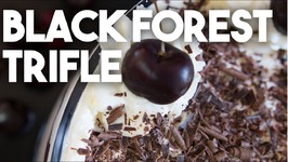 BLACK FOREST Trifle -Quick And Easy Dessert