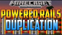 MINECRAFT XBOX ONE/PS4 - POWERED RAILS DUPLICATION GLITCH -HOW TO DUPLICATE POWERED RAILS