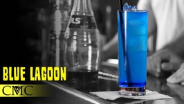 How To Make The Blue Lagoon Cocktail / Easy Vodka Cocktails