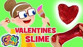VALENTINES DAY SLIME - Crafty Carol Slime - Crafts for Kids
