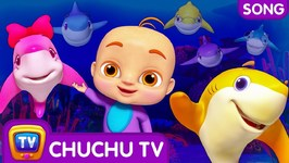 Baby Shark and Friends Song- 3D Nursery Rhymes and Songs for Babies- ChuChu  TV Funzone