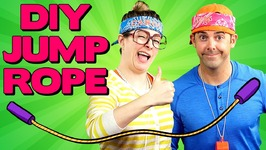 DIY Jump Rope with Jim Class - Arts and Crafts with Crafty Carol