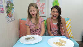 Gummy vs Real Food Challenge - Hope Marie with Jojo B