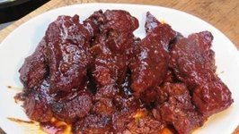 BBQ Boneless Beef Country Ribs