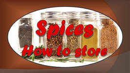 How To Store Spices-Quick Tip