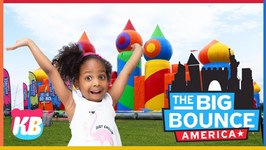 Kamdenboy & Kyraboo Go Out To Visit The Worlds Biggest Inflatable Bounce House And Have Fun Together!