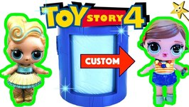 Toy Story 4 TRANSFORMING TOWER GAME w/ Custom Bonnie Doll & Surprise Toys