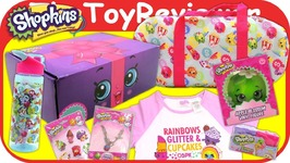 Shopkins Direct Subscription Box Summer 2017 Huge Haul Present Unboxing Toy Review