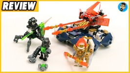2018 Lego Nexo Knights Lances Hover Jouster Review - Lego 72001