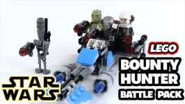 Lego Star Wars Bounty Hunter Speeder Bike Battle Pack Review Set 75167