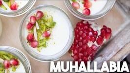 Muhallabia - Scented Milk Custard