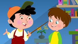 Head Shoulders Knees and Toes - English Nursery Rhymes for Kids