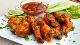 Appetizer Recipe - Spicy Honey Lime Baked Chicken Wings