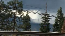 Funnel Cloud Spotted Over Lake Tahoe, Nevada