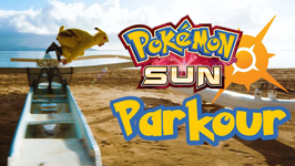Pokemon Sun and Moon Meets PARKOUR in REAL LIFE!