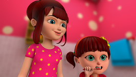 Elsa Teaches Anna About Personal Hygiene-This Is The Way-Popular Children's Nursery Rhymes