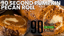 90 Second Pumpkin Pecan Roll