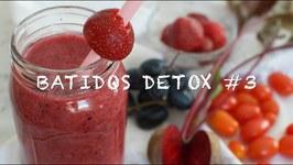 Batidos Detox 3 / Zumos Detox / Batido Detox / Zumo Para Perder Peso Y Llevar Una Vida Saludable