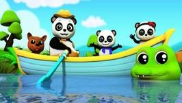Row Row Row Your Boat - Baby Bao Panda Video For Kids