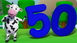 Number Song 1 to 50 And More Rhymes -  Episode 45