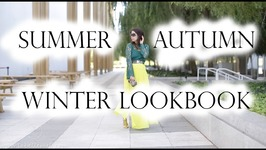 7 Outfits from Summer to Fall to Winter Lookbook