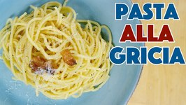 Glen Makes Pasta Gricia