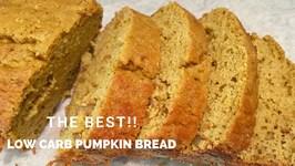 The Best Low Carb Keto Pumpkin Bread