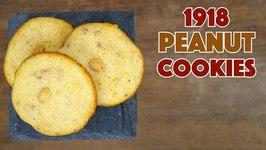 1918 Peanut Cookies