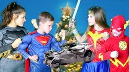 Justice League Toys Christmas Battle
