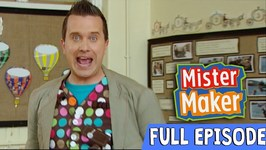 Super Scrunched Up Make - Episode 3 - Full Episode - Mister Maker Comes To Town