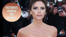 Victoria Beckham's Model Is Getting Skinny Shamed Again
