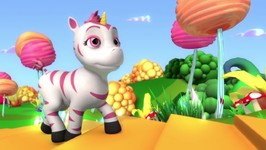 Meet Aliel The Zoonicorn- Cartoon Music Video For Kids- Introduction 2017