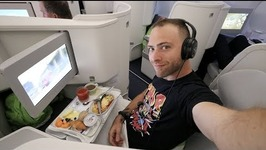 19 Hours in the SKY - FINNAIR BUSINESS CLASS REVIEW - Miami to Helsinki to Bangkok