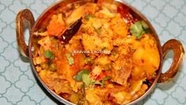Quickest Sukhi Aloo Matar Gobi Gajar Masala Sabzi In Pressure Cooker