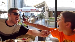 Great Food In Thessaloniki Greece - LGBT Family Eating Show