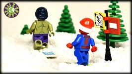 Lego Hulk Spider-Man Iron Man On Vacation
