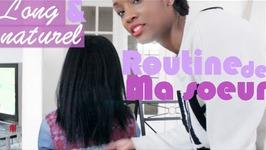 Cheveux Longs et Naturels: La Routine capillaire de ma soeur  MarciaBloem