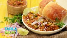 Pav Bhaji (Pressure Cooking)